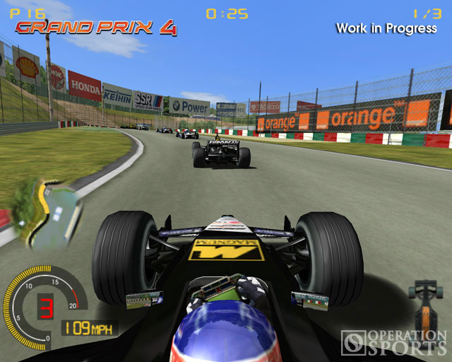 Geoff Crammond's Grand Prix 4 Screenshot #1 for PC