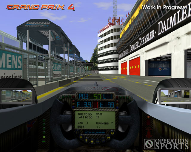 Geoff Crammond's Grand Prix 4 Screenshot #4 for PC