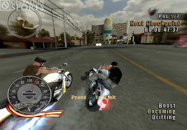Harley-Davidson: Race to the Rally Screenshot #1 for PS2