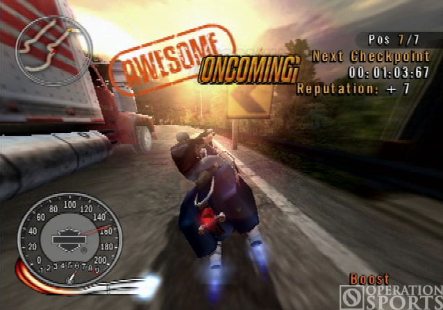 Harley-Davidson: Race to the Rally Screenshot #2 for PS2