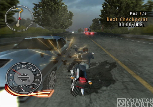 Harley-Davidson: Race to the Rally Screenshot #3 for PS2