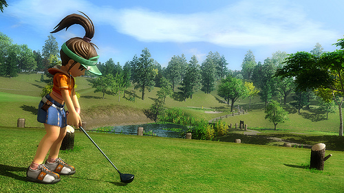Hot Shots Golf: Out of Bounds Screenshot #2 for PS3