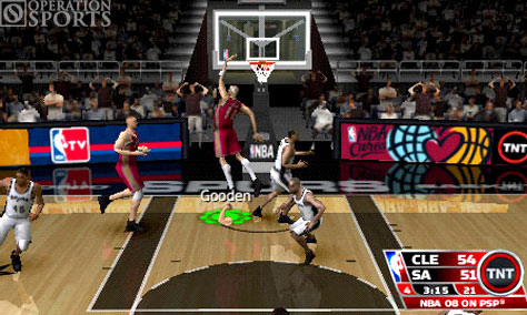 NBA '08 Screenshot #2 for PSP