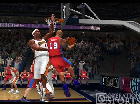NBA '08 Screenshot #2 for PS2