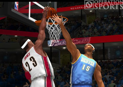 NBA '08 Screenshot #3 for PS2