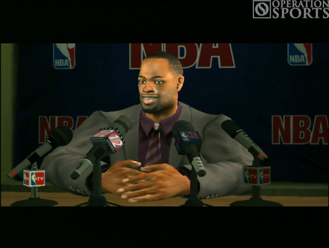 NBA '07 Screenshot #4 for PS2