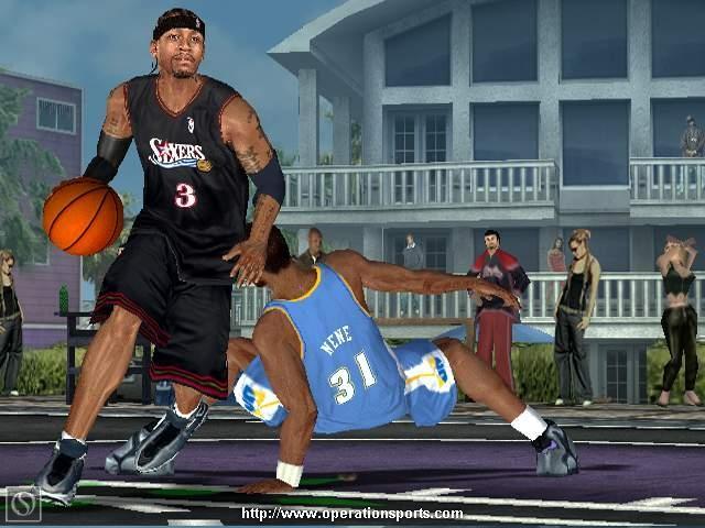 NBA Ballers: Phenom Screenshot #1 for Xbox