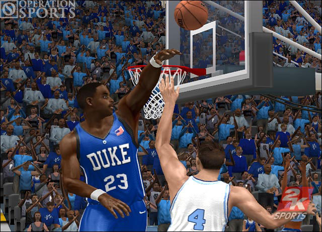 College Hoops 2K6 Screenshot #1 for Xbox