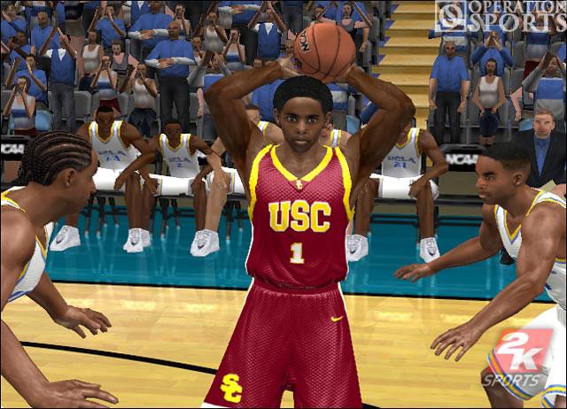 College Hoops 2K6 Screenshot #3 for Xbox