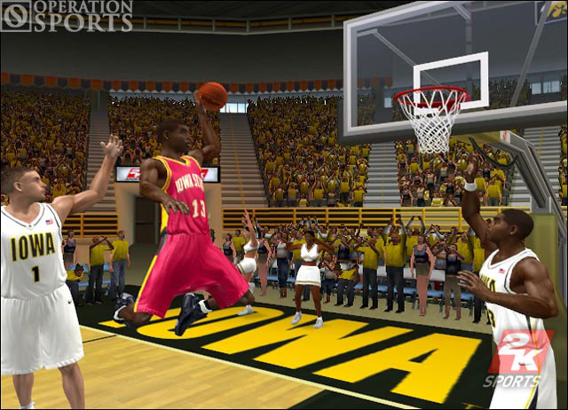 College Hoops 2K6 Screenshot #4 for Xbox