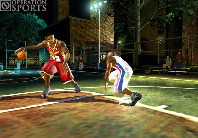NBA Street V3 Screenshot #1 for Xbox