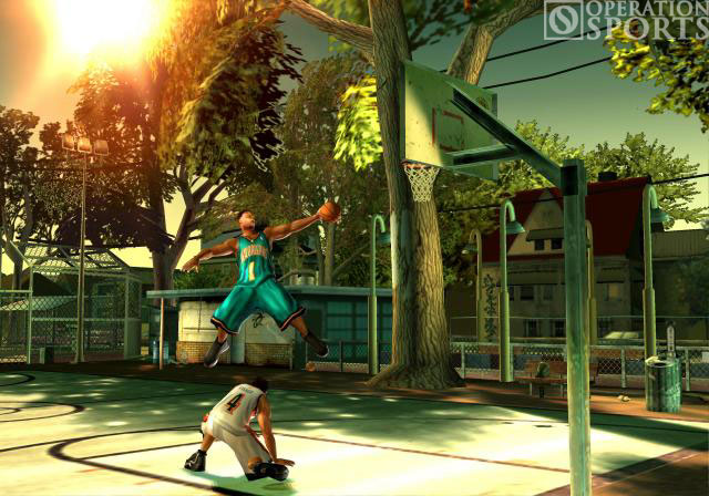 NBA Street V3 Screenshot #2 for Xbox
