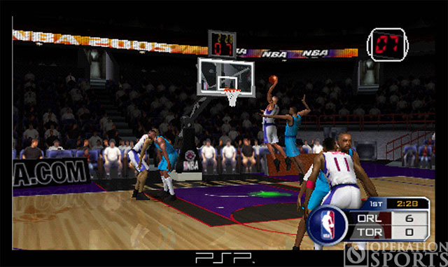 NBA '05 Screenshot #1 for PSP