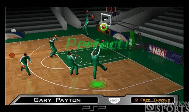NBA '05 Screenshot #2 for PSP