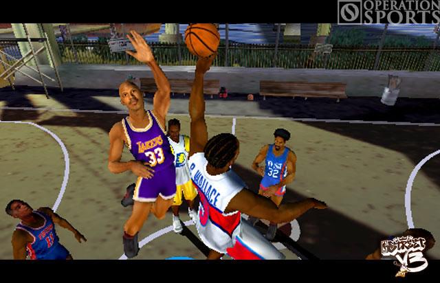 NBA Street Showdown Screenshot #2 for PSP