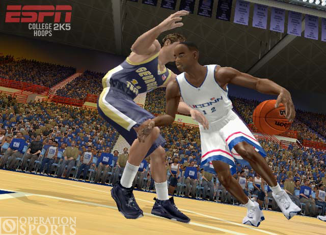 ESPN College Hoops 2K5 Screenshot #1 for Xbox