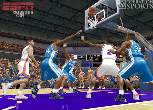 ESPN College Hoops 2K5 Screenshot #2 for Xbox