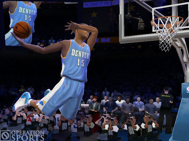 NBA Live 2005 Screenshot #1 for Xbox