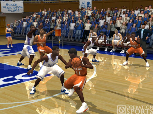 NCAA March Madness 2004 Screenshot #1 for Xbox