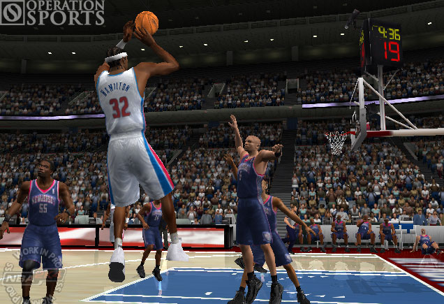 ESPN NBA Basketball Screenshot #2 for Xbox