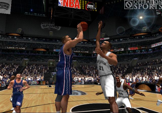 NBA ShootOut 2004 Screenshot #1 for PS2