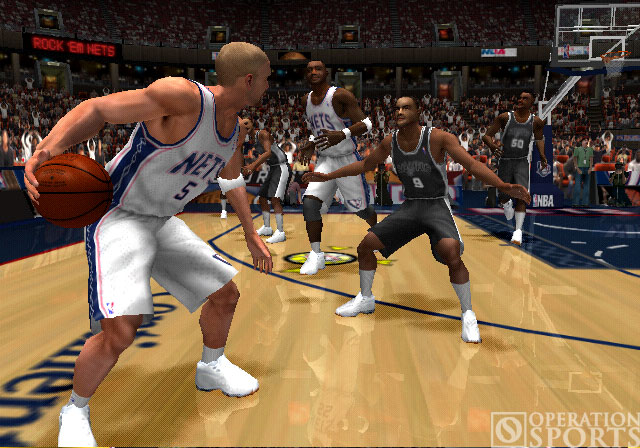 NBA ShootOut 2004 Screenshot #2 for PS2
