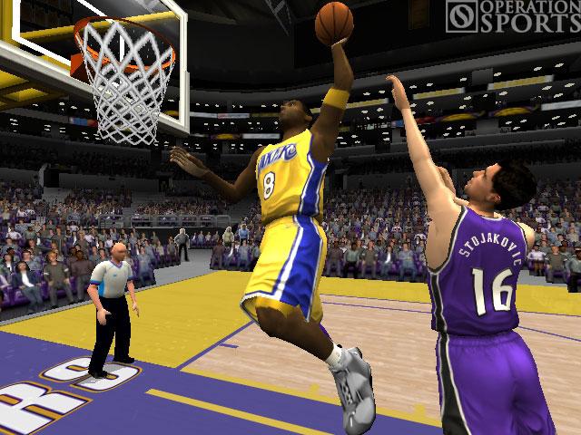 NBA Live 2004 Screenshot #1 for Xbox