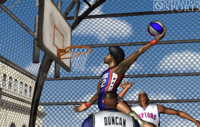 NBA Street Vol. 2 Screenshot #2 for PS2