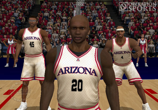 NCAA 2K3 College Basketball Screenshot #1 for PS2