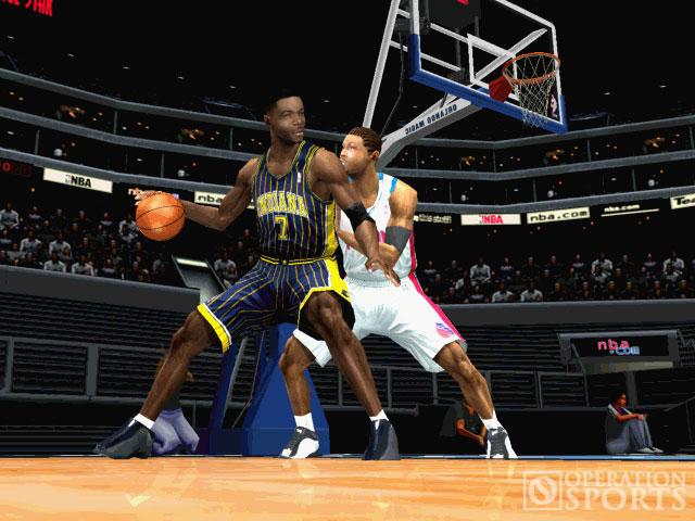 NBA Starting 5 Screenshot #2 for PS2