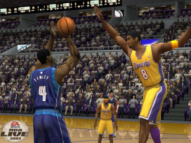 NBA Live 2003 Screenshot #1 for Xbox