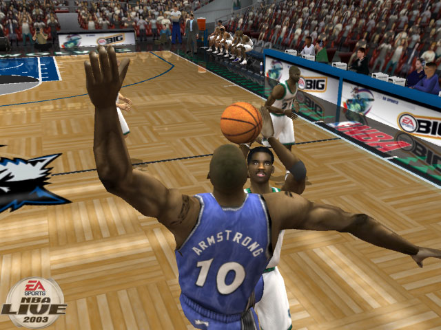 NBA Live 2003 Screenshot #2 for Xbox