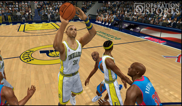 NBA 2K3 Screenshot #1 for Xbox