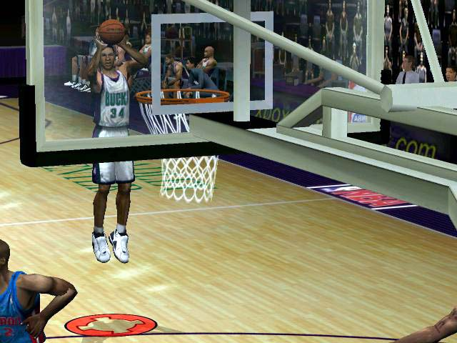 NBA Inside Drive 2003 Screenshot #1 for Xbox