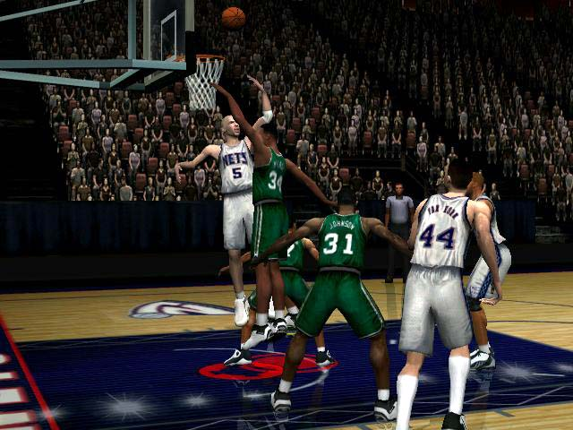 NBA Inside Drive 2003 Screenshot #2 for Xbox