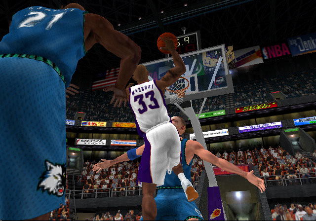 NBA Shootout 2003 Screenshot #1 for PS2