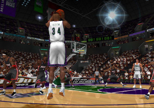 NBA Shootout 2003 Screenshot #2 for PS2
