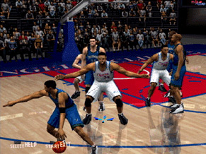 ESPN NBA 2Night 2002 Screenshot #1 for PS2