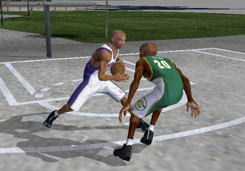 NBA Street Screenshot #2 for NGC