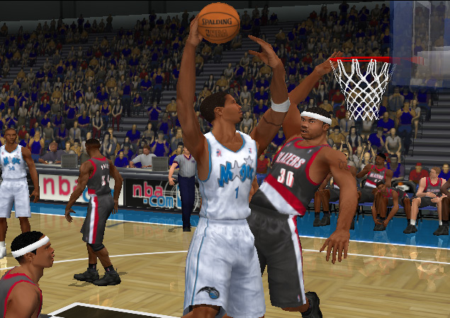 NBA 2K2 Screenshot #1 for Xbox