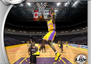 NBA Live 2002 Screenshot #1 for Xbox
