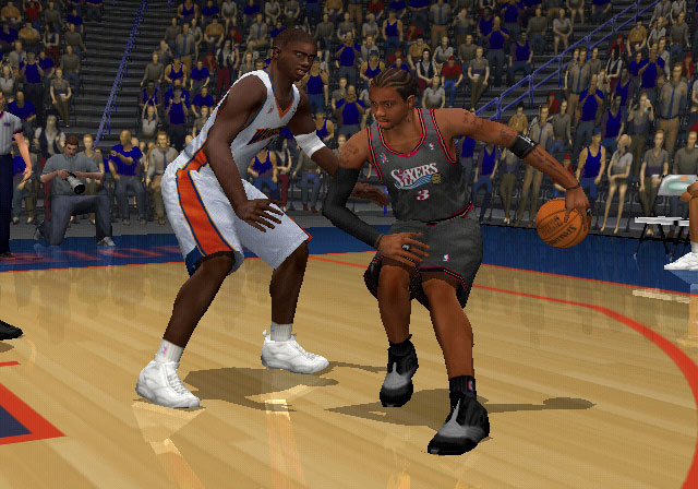 NBA 2K2 Screenshot #2 for PS2