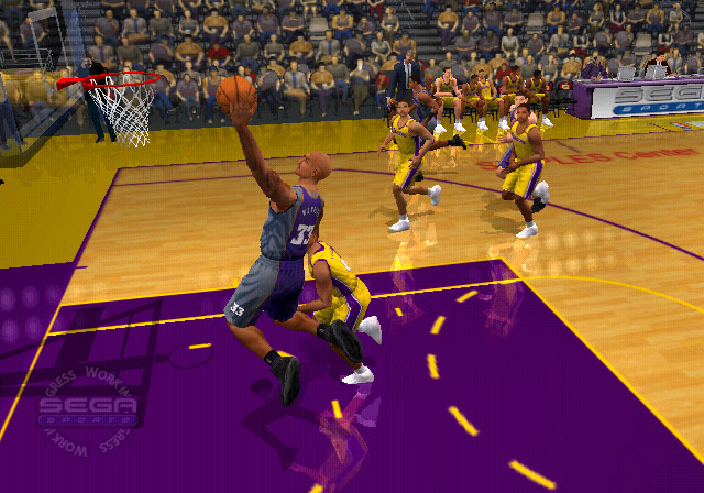 NBA 2K2 Screenshot #3 for PS2