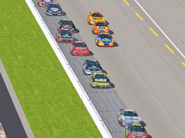 NASCAR Racing 2002 Season Screenshot #1 for PC