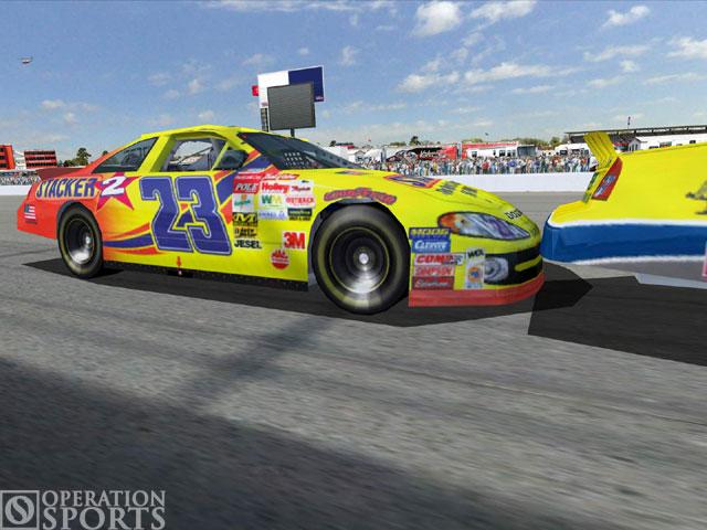 NASCAR Racing 2003 Season Screenshot #2 for PC
