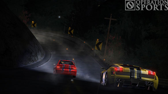 Need For Speed Carbon Screenshot #1 for Xbox 360