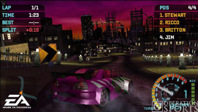 Need for Speed Underground Rivals Screenshot #1 for PSP