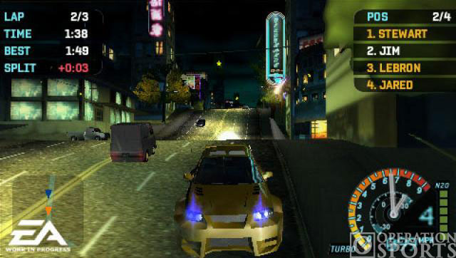 Need for Speed Underground Rivals Screenshot #2 for PSP