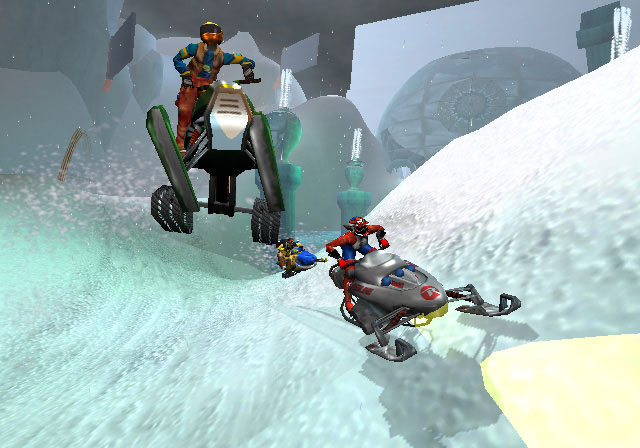 Sled Storm Screenshot #1 for PS2