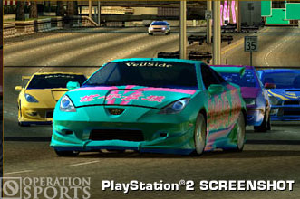 Street Racing Syndicate Screenshot #1 for PS2